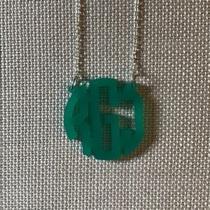 Jewelry - Monogram Necklace for RJG